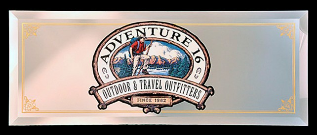 Adventure 16 Custom Sign