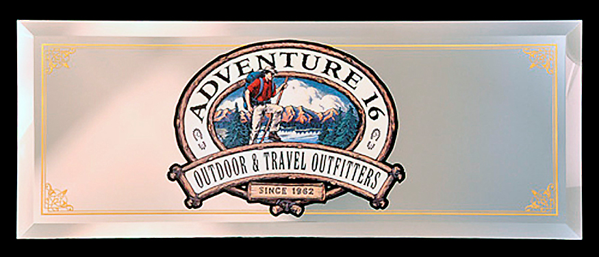 Adventure 16 Custom Sign