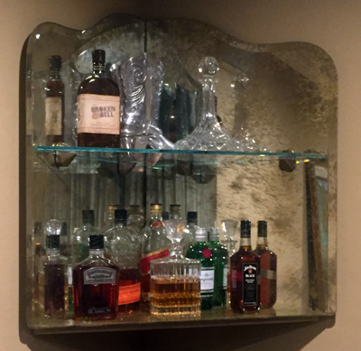 Custom Bar Mirror