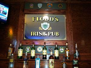 Flood's Bar Sign