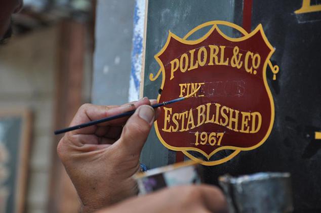 Ralph Lauren Custom Sign