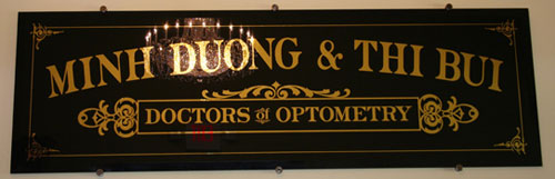 Custom Doctor Sign