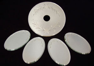 Silver Antique Mirrors