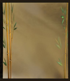 Custom Bamboo Mirror