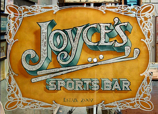 Restaurant Bar Mirror - Joyces Sports Bar