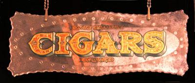 Cigar Bar Mirror
