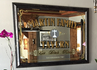 Custom Family Bar Sign