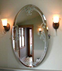 Custom glass mirrors for Custom made mirrors