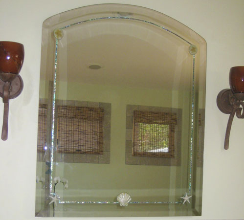 Inlayed Custom  Mirror