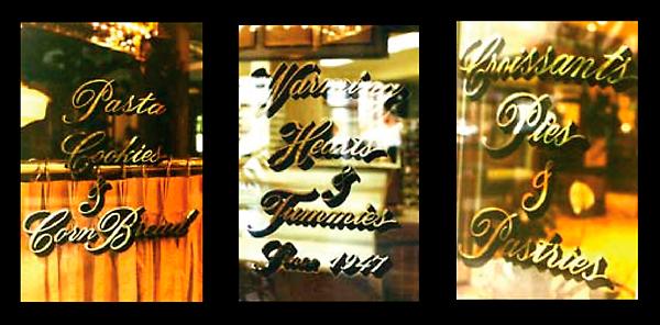 Marie Callender's Restaurant Signs