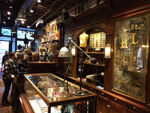 Ralph Lauren Store Counter
