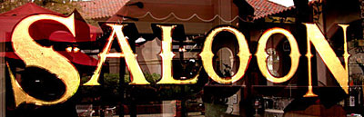 Saloon Bar Sign
