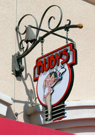 Ruby's Diner Sign