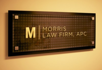 Custom Law Office Sign